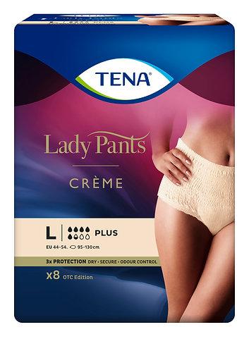 TENA Lady Pants Plus Crème vel. L - 8 ks