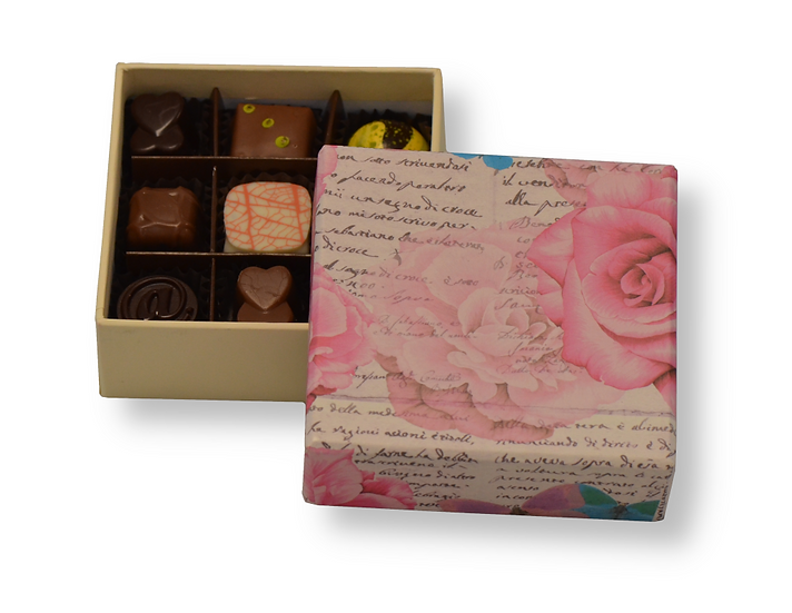 Decorative box with Roses Small
