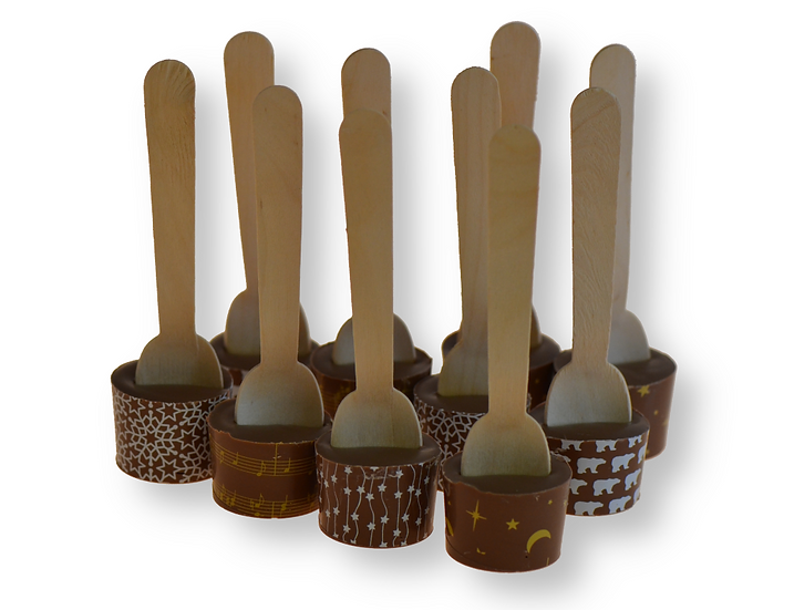 10 Hot Chocolate spoons