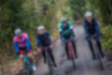Cyclists on Pedal4Cancer London to Cambridge bike ride