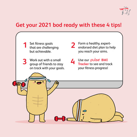 Prudential Anti Obesity Day Illustration