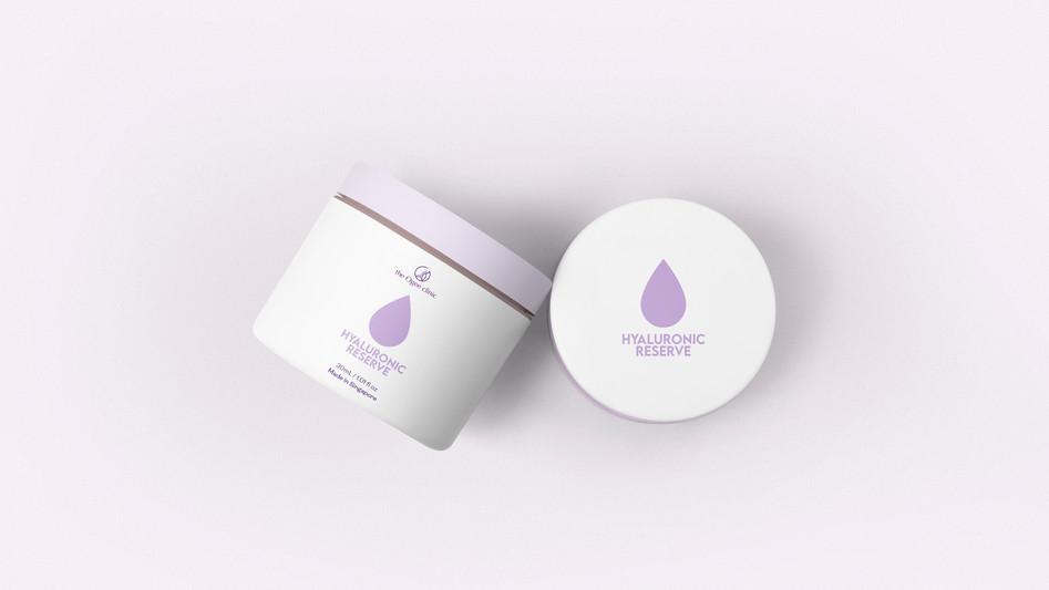 Hyaluronic Acid Packaging Mock-Up