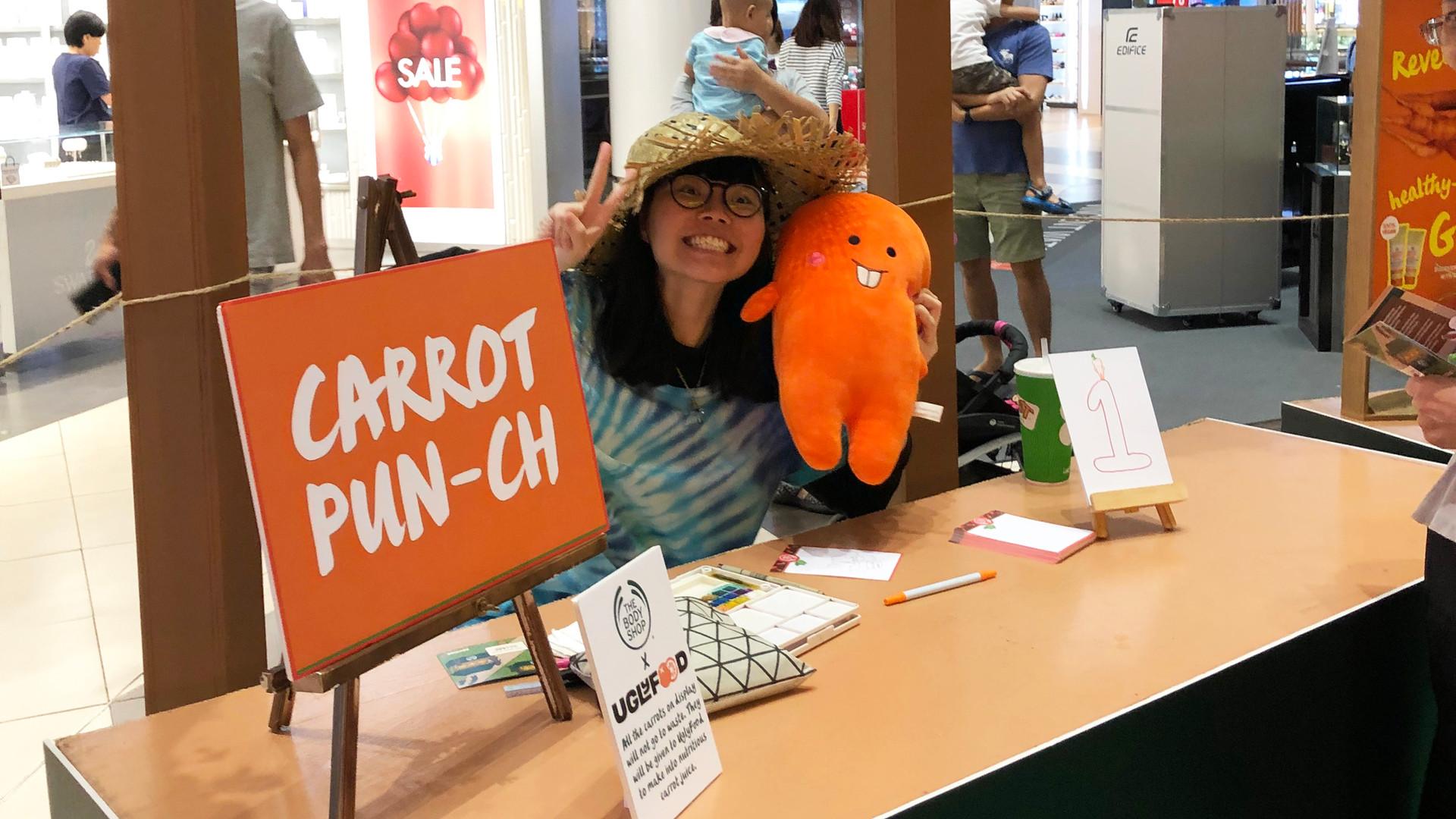 My Carrot Pun-ch Station