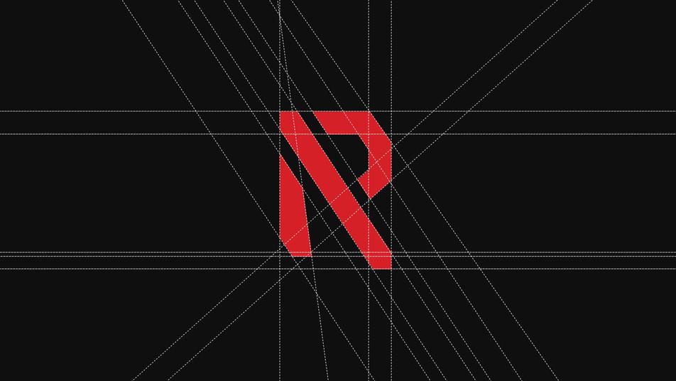 Raw logo grid