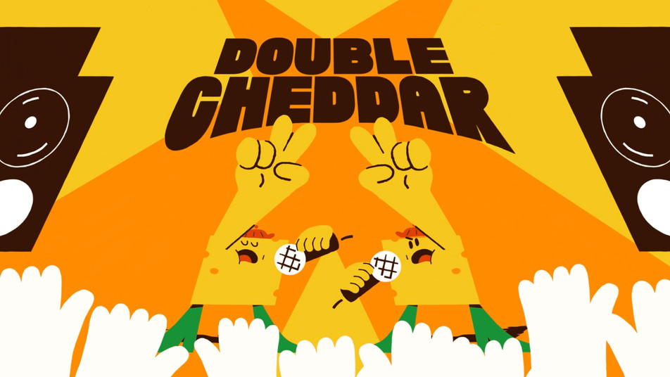 Double cheddar
