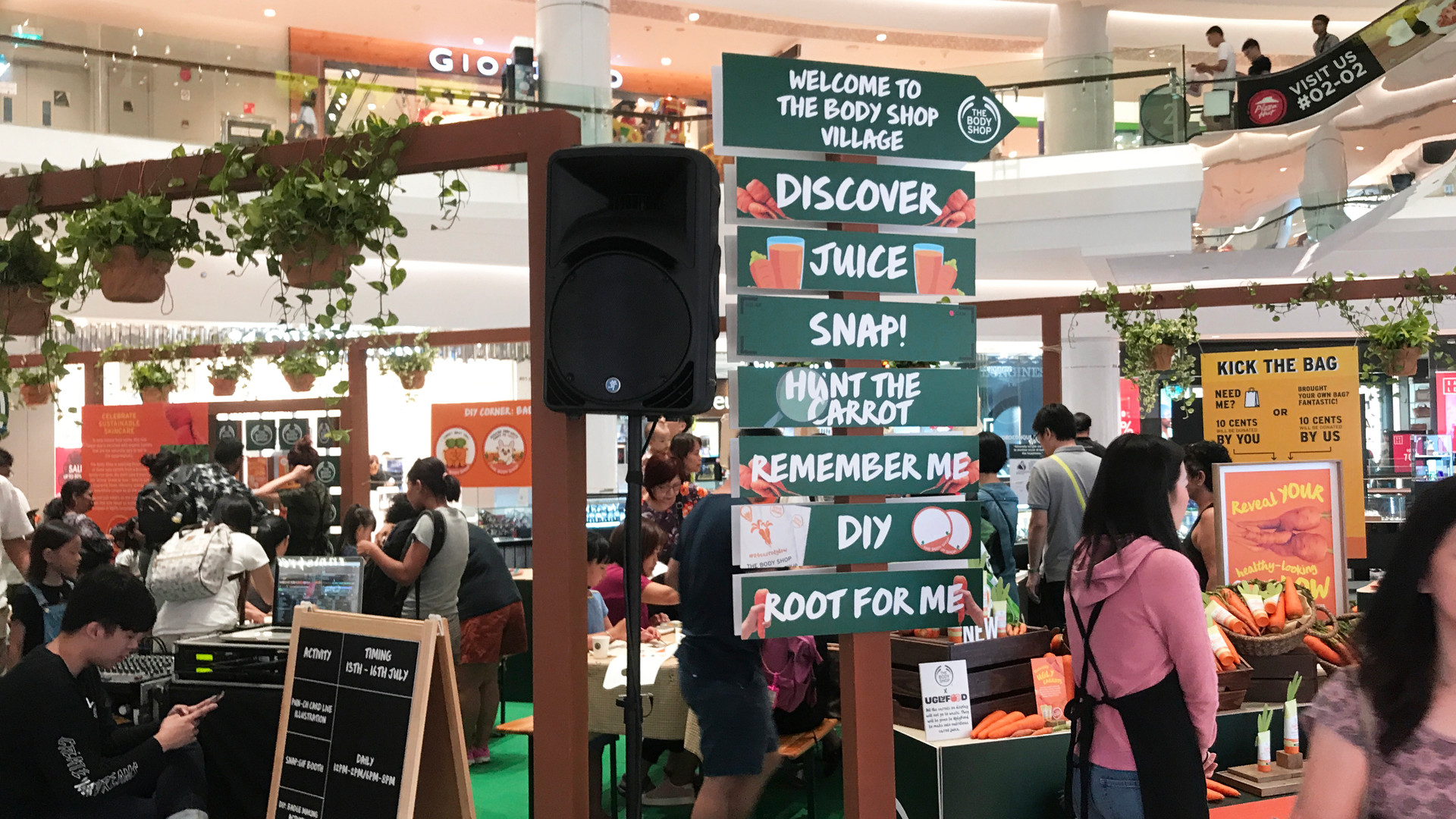 The Body Shop Campaign at Tampines Mall