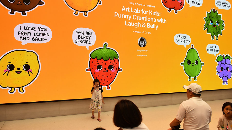 Laugh And Belly Today At Apple