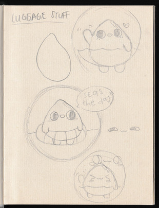 LANEIGE Water Droplet Character Design