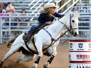 Ward Insulation Sponsors Barrel Racing at Cheyenne Frontier Days