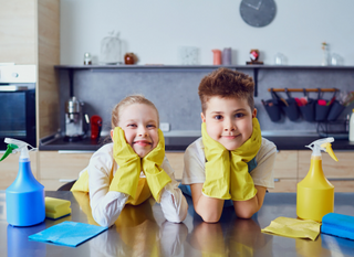 The Perfect Cleaning Checklist for Social Distancing Families