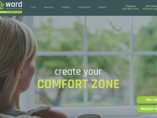 It's here! Introducing the new Ward Insulation website