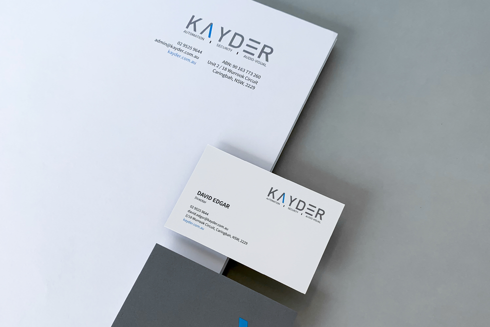 Kayder Branding (Rebrand)
