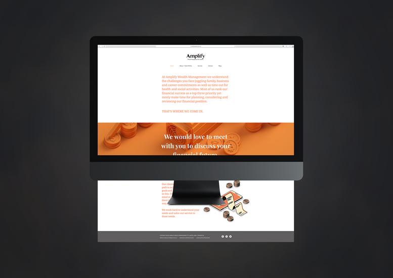 Amplify Wealth Website