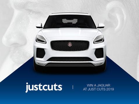 Just Cuts Win a Jaguar Campaign 2019