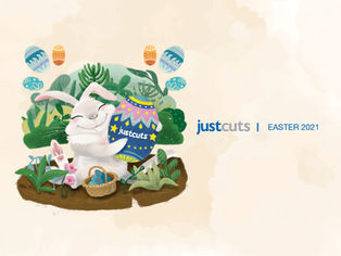 Just Cuts Easter Campaign 2021