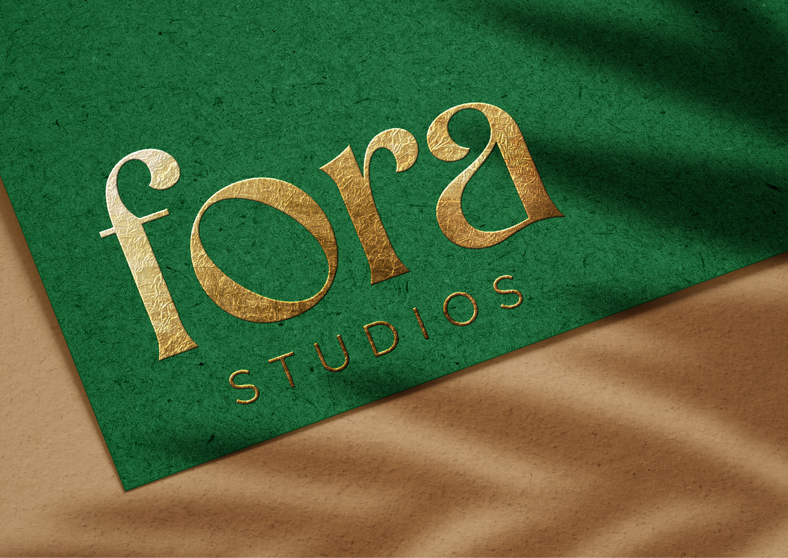 Fora Logo Mockup
