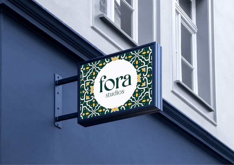Fora Studios Branding