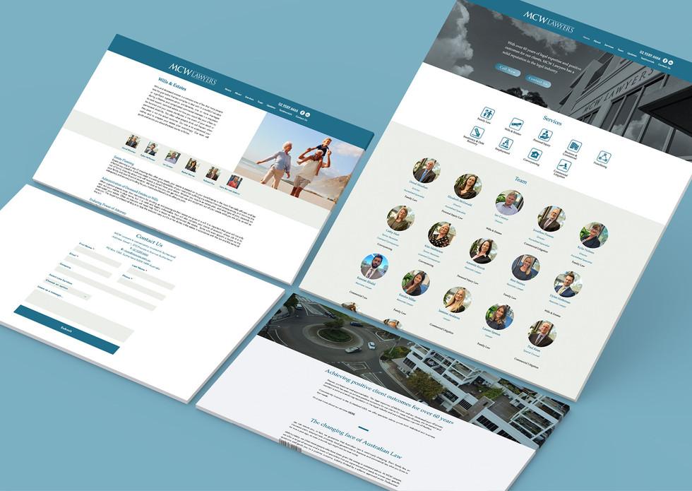 MCW Lawyers Website Design