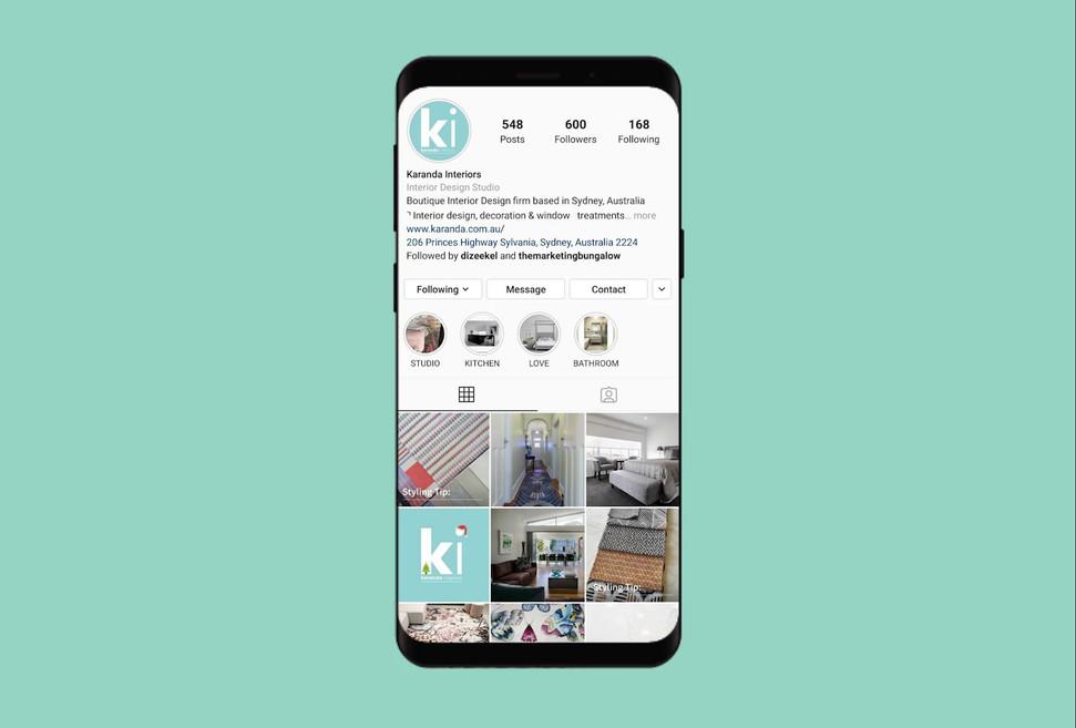 Karanda Interiors Social Media