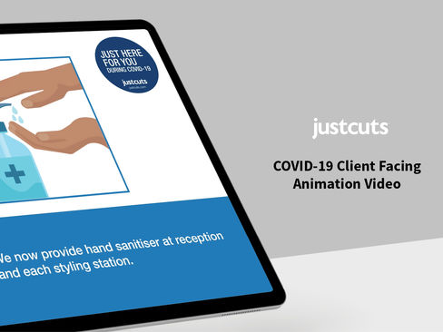 Just Cuts Covid-19 Animated Video