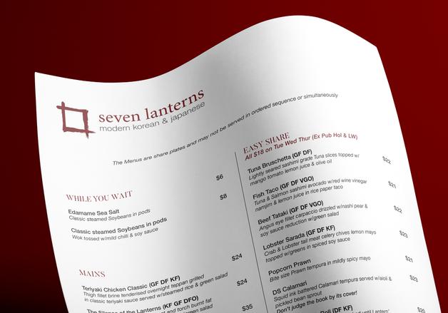 Seven Lanterns Social Media