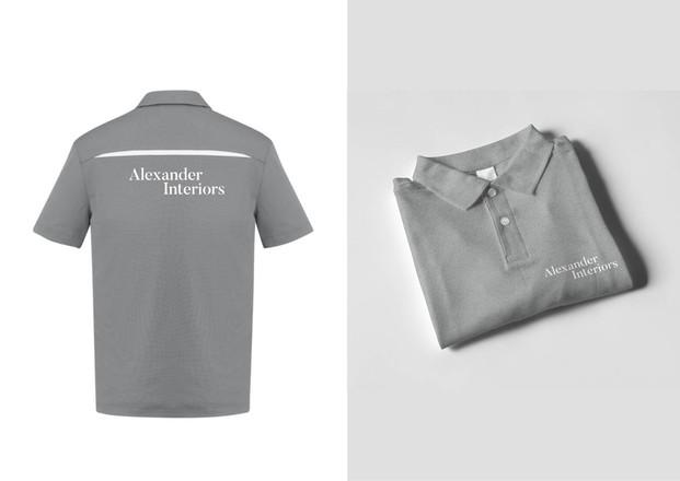 Alexander Interiors Branding
