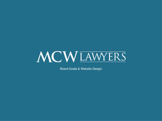 MCW Lawyers Brand Guide & Website Design