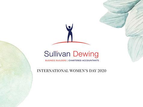 Sullivan Dewing International Women's Day 2020