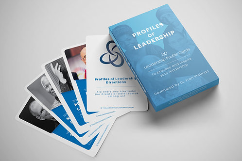 Profiles of Leadership cards