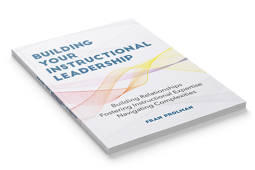 Building Your Instructional Leadership