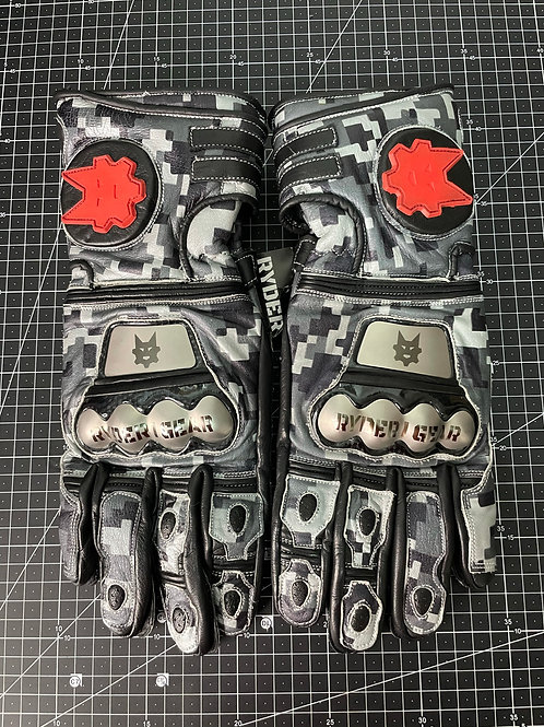 2019/2020 Gauntlet Ryder Gear Gloves (Digi Grey - Large)