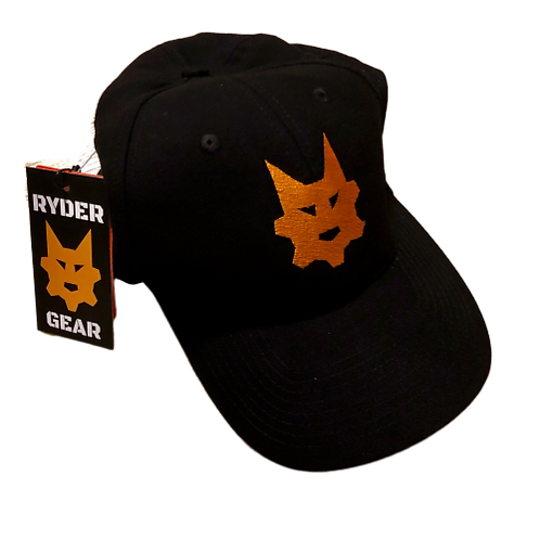 Ryder Gear - Fitted Embroidered Hat (Black)