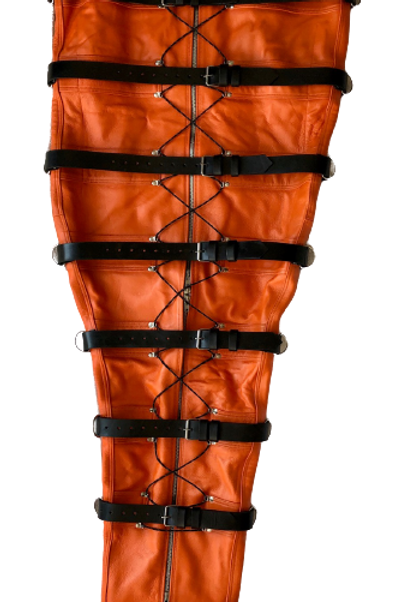 *Orange with Black leather Lining Ryder Gear Deluxe Sleep Sack (XL)