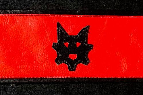 Ryder Pup Cuff Wallet - Fluorescent Orange