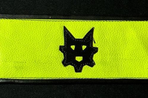 Ryder Pup Cuff Wallet - Fluorescent Yellow