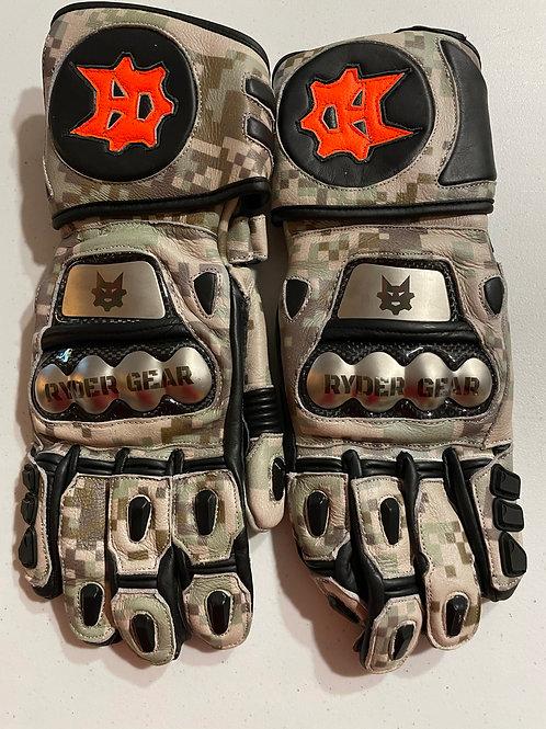 2019/2020 Gauntlet Ryder Gear Gloves (Desert Marpat Camo -Small)
