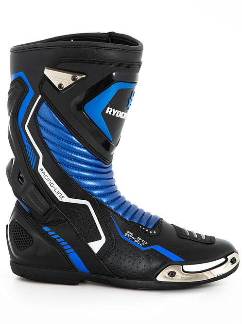 RX-7 Ryder Gear Boots (EU45/US11) Blue and White