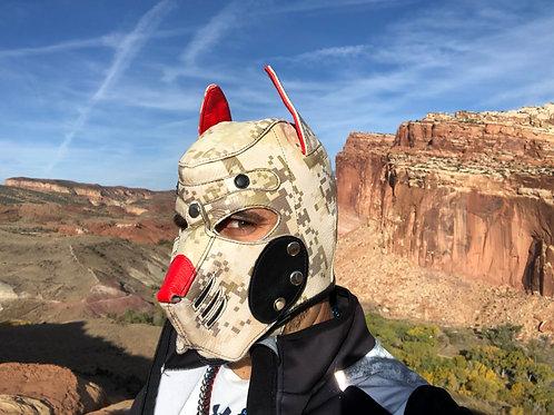 *Ryder Gear Pup Hood - Desert Camo (Black Nose!)