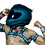 Thumbnail: Ryder Gear Bulldog Harness - Regular (3.5 cm) CAMO Colors