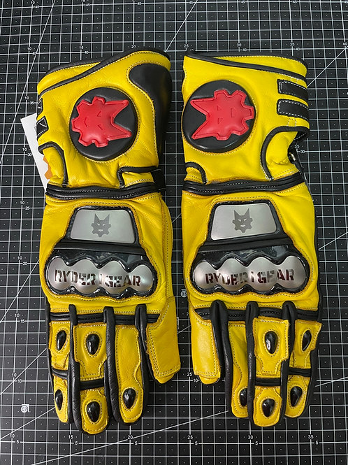 2019/2020 Gauntlet Ryder Gear Gloves (Yellow-Large)