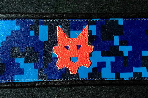 Ryder Pup Cuff Wallet - Digital Blue Camo