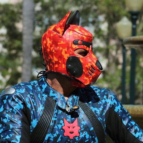 Ryder Gear Florescent Orange Camo Pup Hood