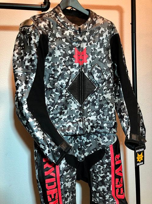 2019 Ryder Gear Digi Grey Camo 2 PC Suit (EU54/US44)