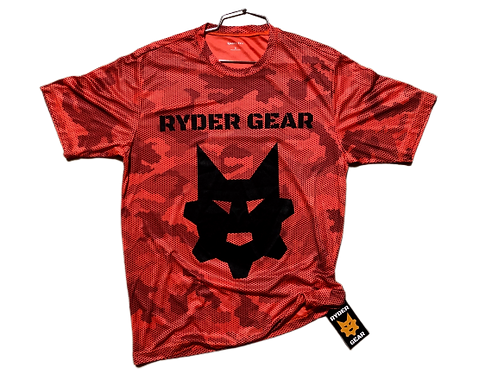 Ryder Gear - Dry Fit Flame Gym Tee