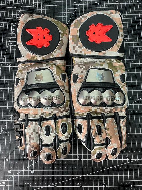 2019/2020 Gauntlet Ryder Gear Gloves (Desert Marpat Camo - Large)