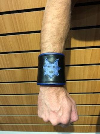 Ryder Pup Cuff Wallet -Black (Blue)