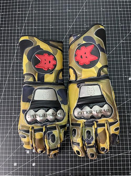 2019/2020 Gauntlet Ryder Gear Gloves (Green Camo - XL)