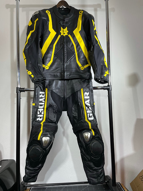 2018 Ryder Gear Yellow R-Age 2 PC Suit (EU58/US48)