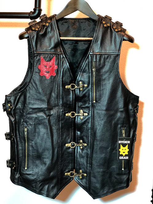 Cruiser Vest - Black and Red (Med/Large)