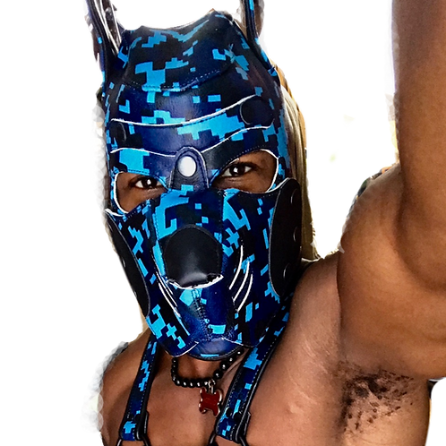 *Ryder Gear Pup Hood - Digital Blue Camo